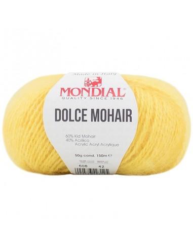 DOLCE MOHAIR 50GR COL 608 MONDIAL