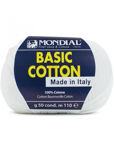 BASIC COTTON 50GR COL 100 MONDIAL