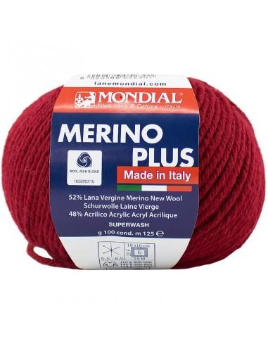MERINO PLUS 100GR COL 407 MONDIAL