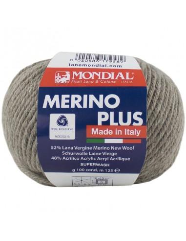MERINO PLUS 100GR COL 400 MONDIAL